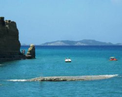 Beaches in Corfu, Corfu, Greece, Canal Damour view (2)