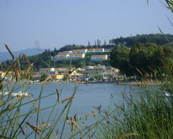 Beaches in Corfu, Corfu, Greece, Canal Damour Sidari panorama