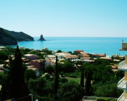 Beaches in Corfu, Corfu, Greece, Agios Gordios overview