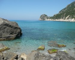 Beaches in Corfu, Corfu, Greece, Ermones crystal clear waters