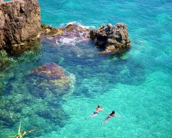 Beaches in Corfu, Corfu, Greece, Paleokastrita crystal clear waters