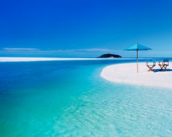 Beautiful Beaches, Australia, Beach Whiteheaven, Luxury lounge