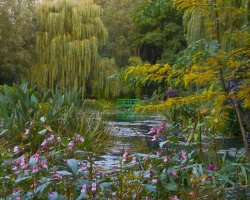 Beautiful Garden Holiday, Monets Gardens, France, Scenery
