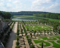 Beautiful Garden Holiday, Versailles Palace Gardens, France, Lake view