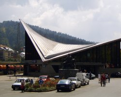 Beautiful Holiday, Predeal, Romania, City train station