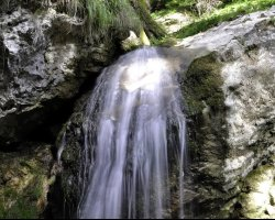 Beautiful Holiday, Predeal, Romania, Tamina Waterfall, Upview
