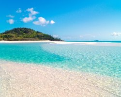 Beautiful World Beaches, Whitehaven Beach, Australia, Quartz sand and crystal waters