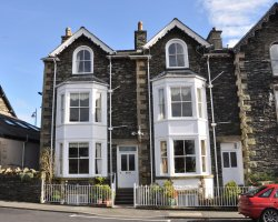 Bed and Breakfast Holiday, Windermere, UK, Brendan Chase victorian facade