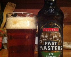 Beer Drinkers Destination, London, England, Past Masters bottle