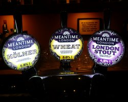 Beer Drinkers Destination, London, England, Meantime London