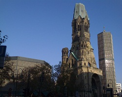 Berlin, Germany, Gedenkniskirche