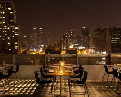 Best New Hotel, New York, USA, The Americano Hotel, City lights at night