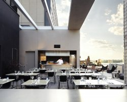 Best New Hotel, New York, USA, The Americano Hotel, Bar terrace view