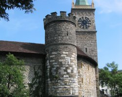 Biel, Switzerland, Tower of the north edge of Old Town