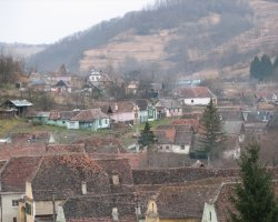 Biertan, Romania, Village overview
