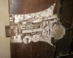 Biertan, Romania, Door lock overview