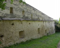 Biertan, Romania, Fortress outside walls