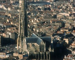 Bordeaux, France, The Cathedral of Saint Andre
