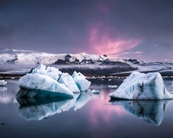 Breathtaking Landscapes, Iceland, Icelandic Glacier lagoon, Overview