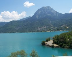 Briancon, France, Lake Serre Poncon