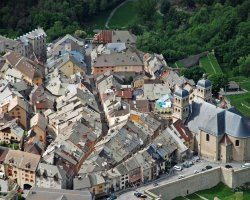 Briancon, France, Aerial view