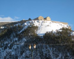 Briancon, France, Le Fort des Tetes above Old Town