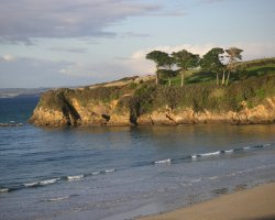 Brittany Holiday, France, Europe, Village Douarnenez seaside view