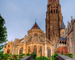 Bruges, Belgium, Church Of Our Lady