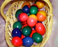 Culinary Traditions, Bucovina, Romania, Wax painted eggs 10