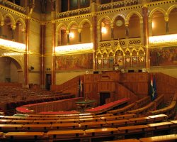 Parliament, Budapest, Hungary, Conference hall