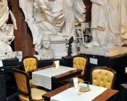 Best Cafe Holiday, Rome, Italy, Canova inside view
