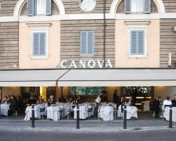 Best Cafe Holiday, Rome, Italy, Canova terrace