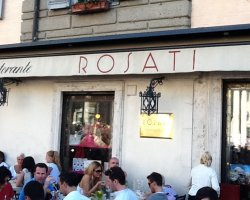 Best Cafe Holiday, Rome, Italy, Rosati cafe terrace