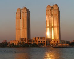Cairo, Egypt, Nile City Towers