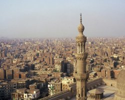 Cairo, Egypt, Roof tops of the city