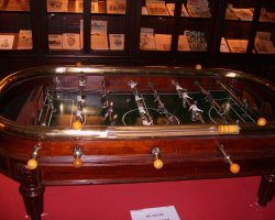 Camp Nou Museum, Barcelona, Spain, Football table game