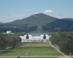 Canberra, Australia, Scenic view of the old Parliament House