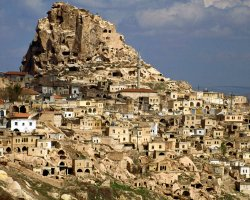 Cappadocia, Turkey, Europe, Cave dwellings