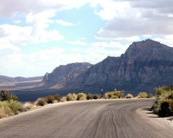 Car Holiday, USA, The Red Rock Scenic Road overview
