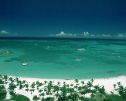Most Visited Islands, Aruba, Caribbean, Aerial photo