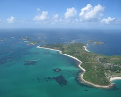 Most Visited Islands, Saint Martin, Caribbean, Aerial photo