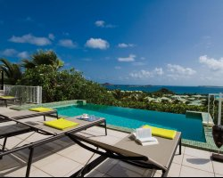 Most Visited Islands, Saint Martin, Caribbean, La Sarabande pool view