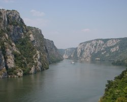 Unique Romanian Destination, Cauldrons of Danube, Danube course panorama