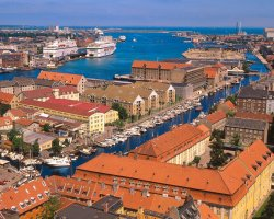 Charming Holiday, Copenhagen, Denmark, Harbor view