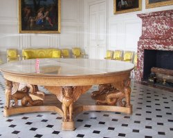 Chateau de Versailles, France, The dining table