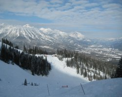 Fernie, British Columbia, Slope view