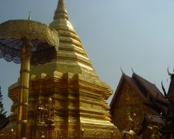 Thailand, Chiang Mai Wat Phra That Doi Suthep Temple