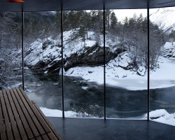 Chic small hotels, Hotel Juvet, Valldal, Norway, Room view