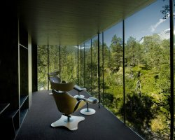 Chic small hotels, Hotel Juvet, Valldal, Norway, Landscape view