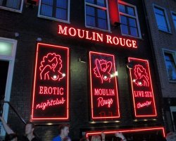 City Break Holiday, Amsterdam, The Netherlands, Mulin Rouge theater